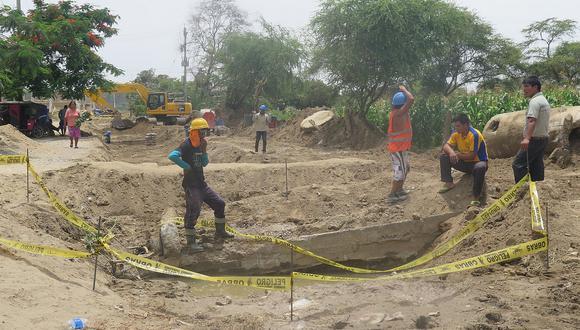 Chiclayo: Obra en Mórrope donde murieron dos hermanitos debió culminar hace tres meses