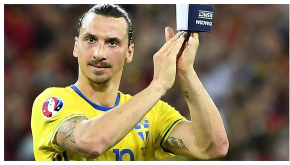 Zlatan Ibrahimovic tendrá su propia estatua en Suecia (FOTO)
