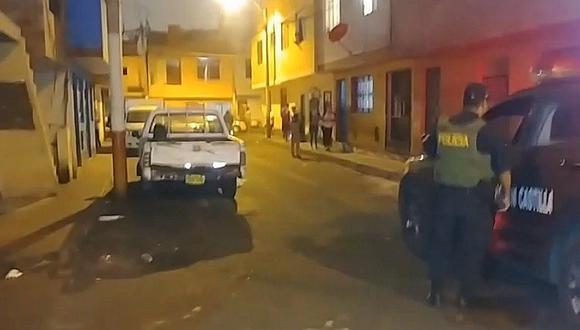 Callao: bebé resultó herido por una bala perdida (VIDEO)