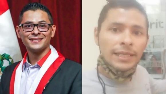 Congresista de Perú Libre Abel Reyes denuncia difamación.   Foto: Composición.