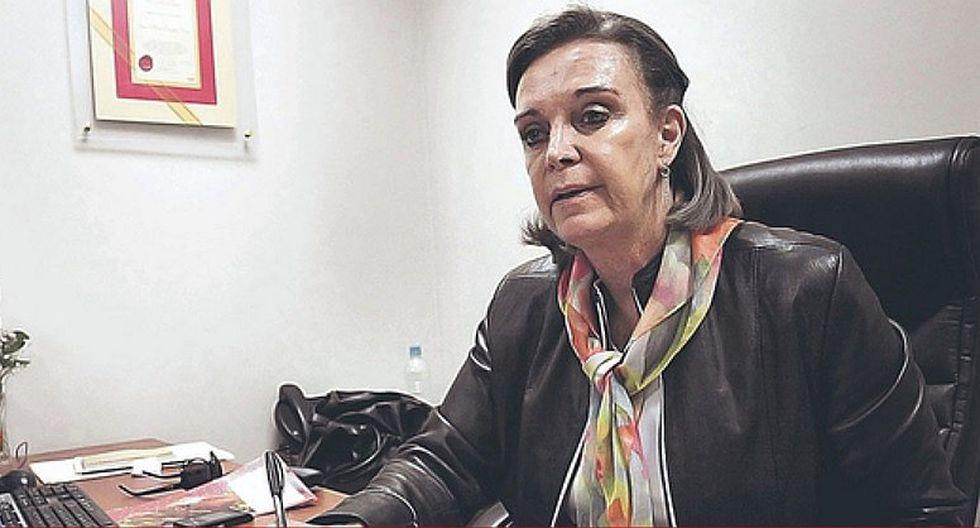 """Luisa María Cuculiza pide a presidente Vizcarra """"disponer"""" la libertad a Fujimori"""