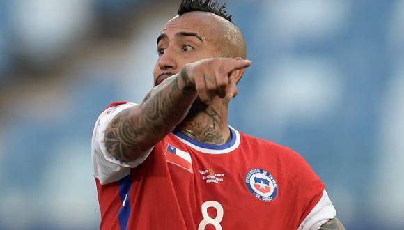 Arturo Vidal fue campeón con Chile en la Copa América del 2015 y 2016. (Foto: AFP)