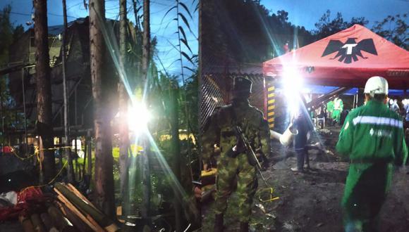 El accidente ocurrió en una zona rural del municipio de Socha, en la mina Santa Inés, ubicada en un sector conocido como El Boche. (Foto: Agencia Nacional de Minería | Twitter)