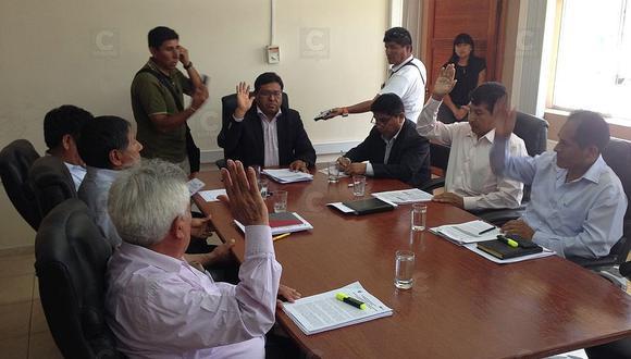 Denuncian a consejeros regionales por fiscalizar mal manejo de recursos del Estado