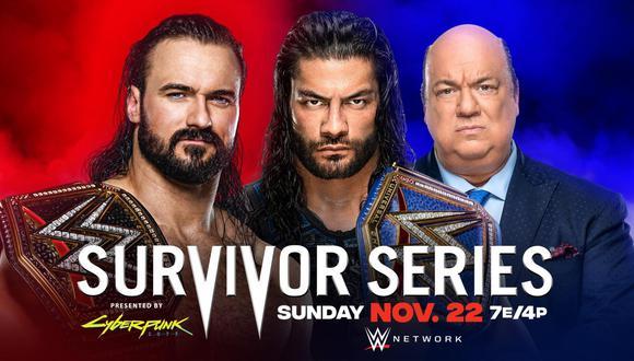 La supremacía de la WWE entra en juego una vez más entre los campeones y los equipos masculinos y femeninos de SmackDown y Raw. (Foto: WWE)