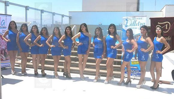 Doce candidatas a Miss Turismo 2018 en Tacna