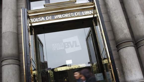El indicador S&P/BVL Perú General, el más representativo de la bolsa, caía un -0.05%. (Foto: GEC)