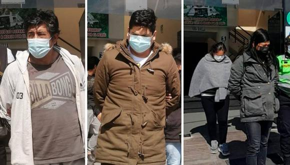 Fueron sentenciados por desobedecer a un policía, amenazarlo, agredirlo en la frente con un vaso de vidrio y patearlo en las costillas (Foto: Lima Post Noticias)