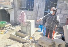 Critican a Sedapar por  rotura de tubería y corte de servicio