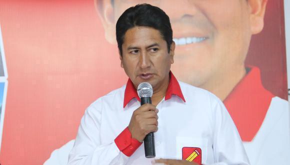 El exgobernador regional de Junín Vladimir Cerrón también afirmó antes que Roger Nájar es la propuesta de Perú Libre para encabezar la PCM. (Foto: Ángel Ramón)