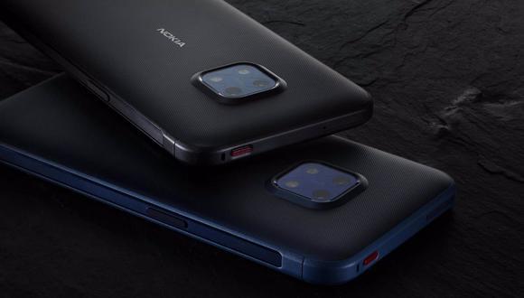 Nokia XR20 está disponible en dos configuraciones: 4GB de RAM y 64GB de almacenamiento interno o 6GB+128GB, con un precio que parte de los 499 euros. (Nokia / Europa Press)