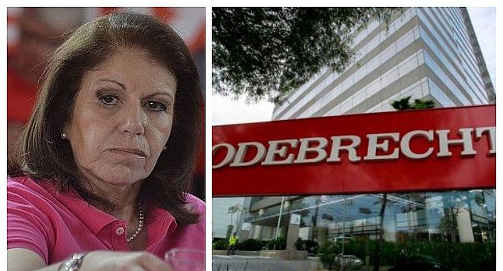 Aspirante a colaborador eficaz señala que Lourdes Flores Nano pidió aportes a Odebrecht