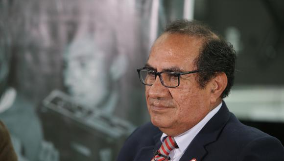 Óscar Vásquez era asesor de comunicaciones del presidente Martín Vizcarra y renunció el último viernes. (Foto: Alonso Chero / GEC)