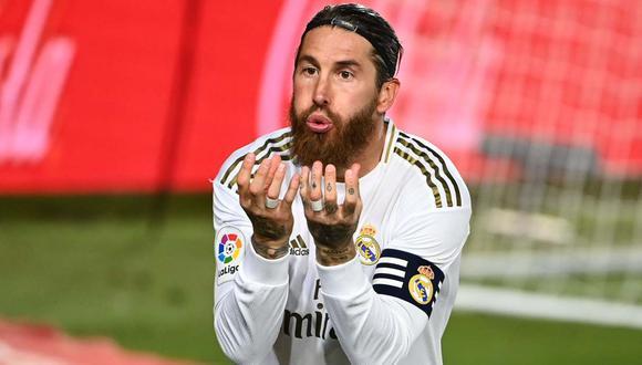 Sergio Ramos podría llegar al debut en la Champions League y el clásico contra Barcelona. (Foto: AFP)
