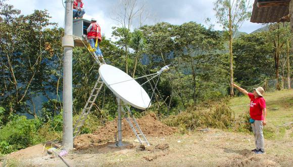 Empresa encargada de la instalación refirió que la cobertura será por más de tres kilómetros de línea recta. (Foto: Difusión)