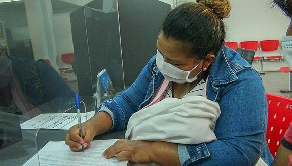 Huancayo: inscripción de recién nacidos se duplica en registro civil (Foto referencial: archivo GEC)