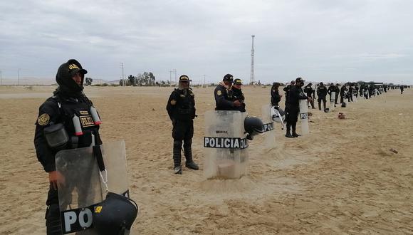 Ica: 55 policías contraen el COVID–19 durante protestas agrarias