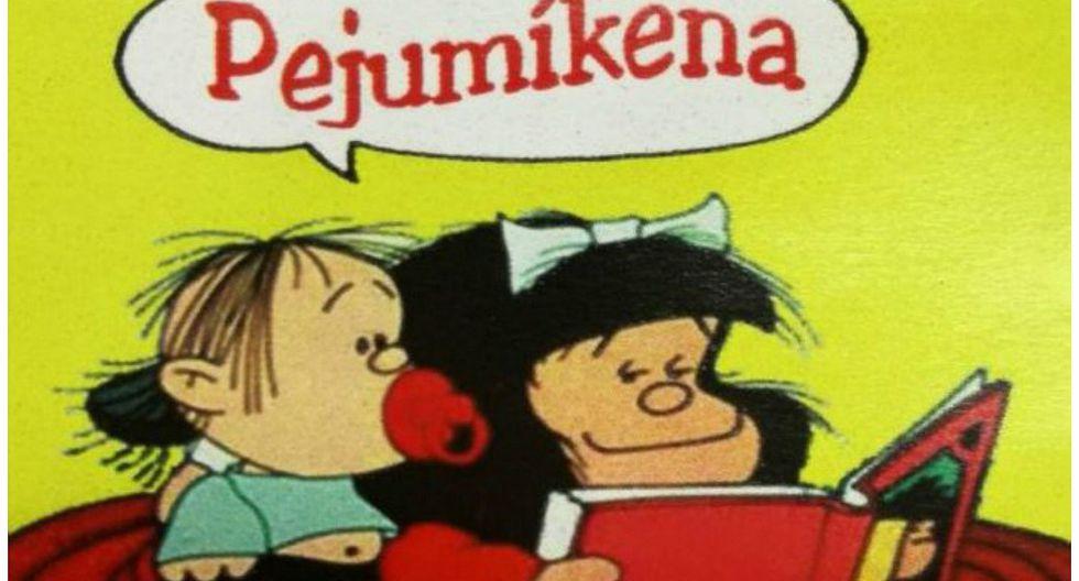 Mafalda es traducida al guaraní, la lengua oficial de Paraguay