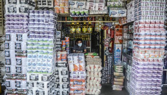 La variación acumulada de precios al séptimo mes del año se situó en 3,18%. (ERNESTO BENAVIDES / AFP)