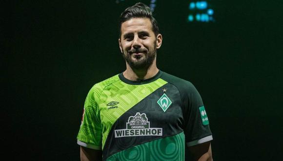 Los saludos de cumpleaños dedicados a Claudio Pizarro. (Foto: @werderbremen)