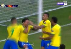Brasil vs. Venezuela: Marquinhos marcó el 1-0 de la 'Canarinha' (VIDEO)