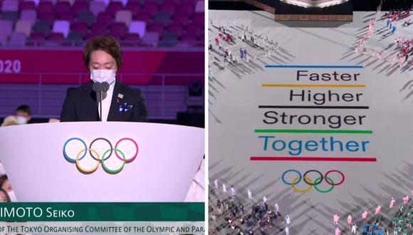 Conductores de ATV ante las palabras de la presidenta del Comité Organizador Tokio 2020. (Foto: Captura ATV).