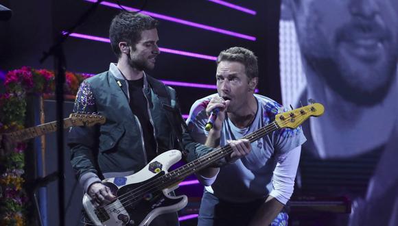 La agrupación Coldplay vuelve a la escena musical con tema producido por Max Martin. (Foto: Ronny HARTMANN / AFP)