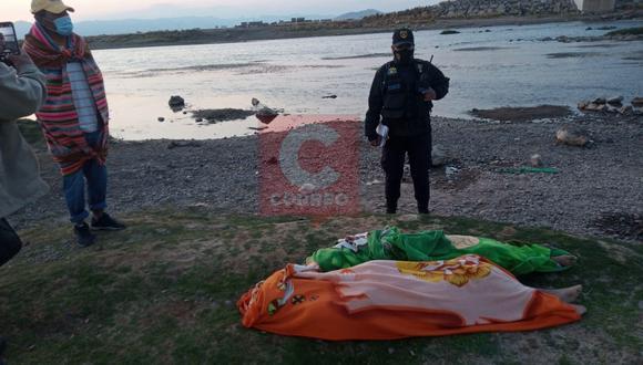 Al realizar la búsqueda los efectivos encontraron sus prendas a un costado del río. (Foto: Diario Correo)