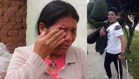 Feliciana Tolentino pide repatriar cuerpo de su hijo/ Foto: Correo