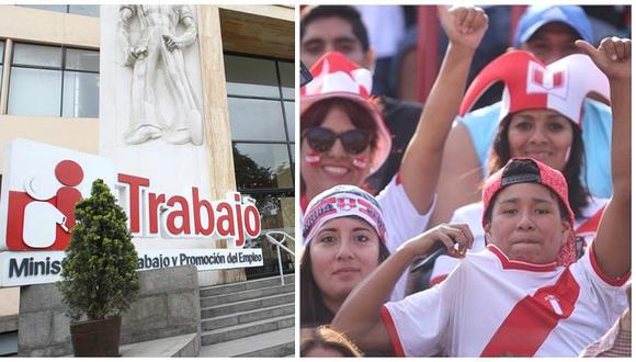 Ministerio de Trabajo confirma que jueves será día no laborable si Perú clasifica al Mundial (FOTO)