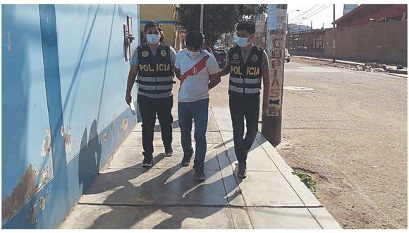 Al ser arrestado, confesó que ultrajó sexualmente a menor de 15 años en su casa en el Pueblo Joven Ampliación Santa Lucía.