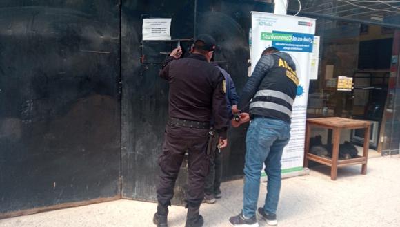 Los agentes trasladaron al acusado hasta la dependencia policial. (Foto: Referencial)