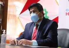 Gobernador de Huancavelica responderá sobre baja ejecución presupuestal