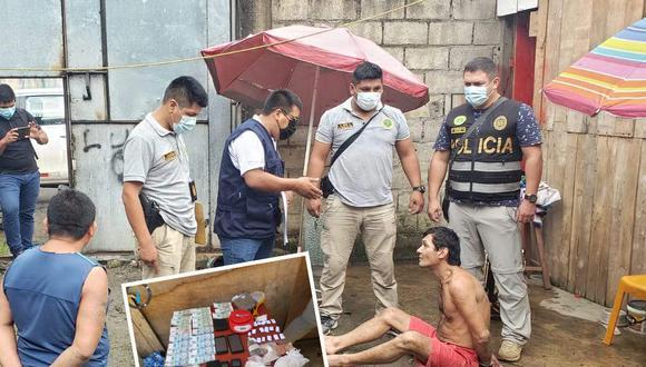 PNP incauta droga en Tingo María/ Foto: Correo
