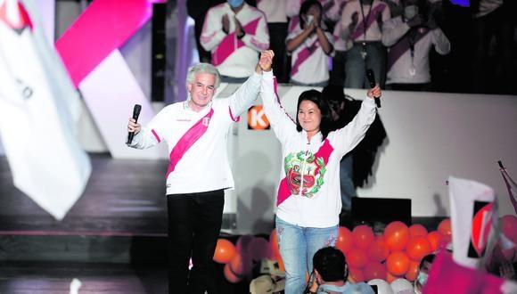 Álvaro Vargas Llosa y su padre, Mario Vargas Llosa, apoyaron públicamente a Keiko Fujimori en la segunda vuelta de las Elecciones 2021. (Foto: GEC)
