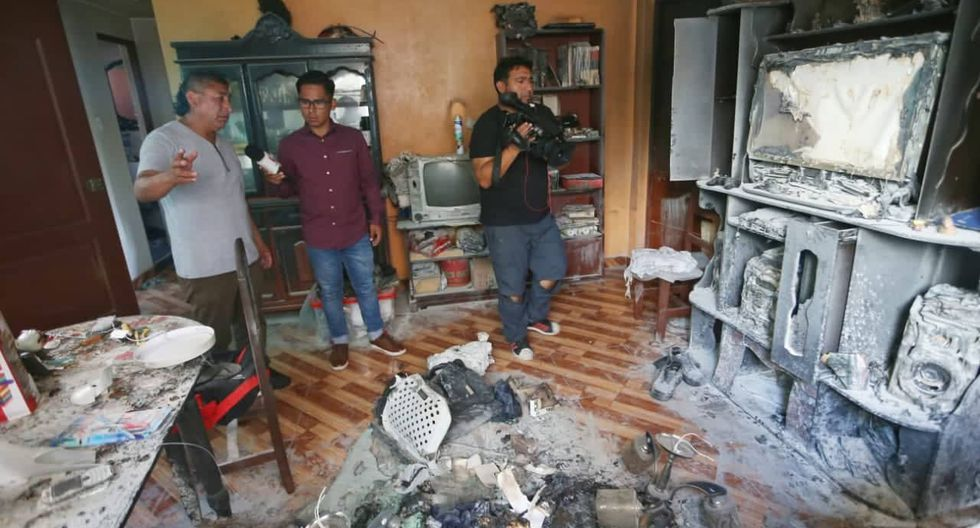 La Victoria: menores de 9 y 14 años fallecieron tras explosión por fuga de gas. Fotos: Gonzálo Córdova