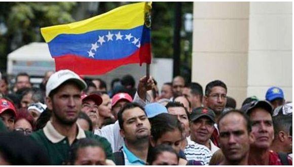 Venezolanos en Perú piden ser considerados en el bono económico dado por el Gobierno.