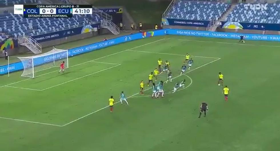 Colombia vs. Ecuador: Edwin Cardona anotó y el VAR validó