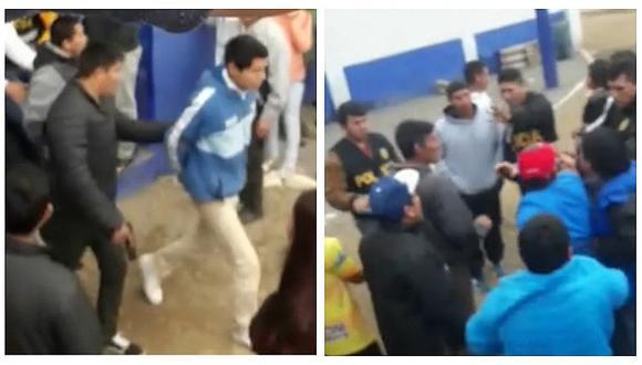 Detienen a cinco integrantes de peligrosa banda cuando jugaban fútbol en Chorrillos