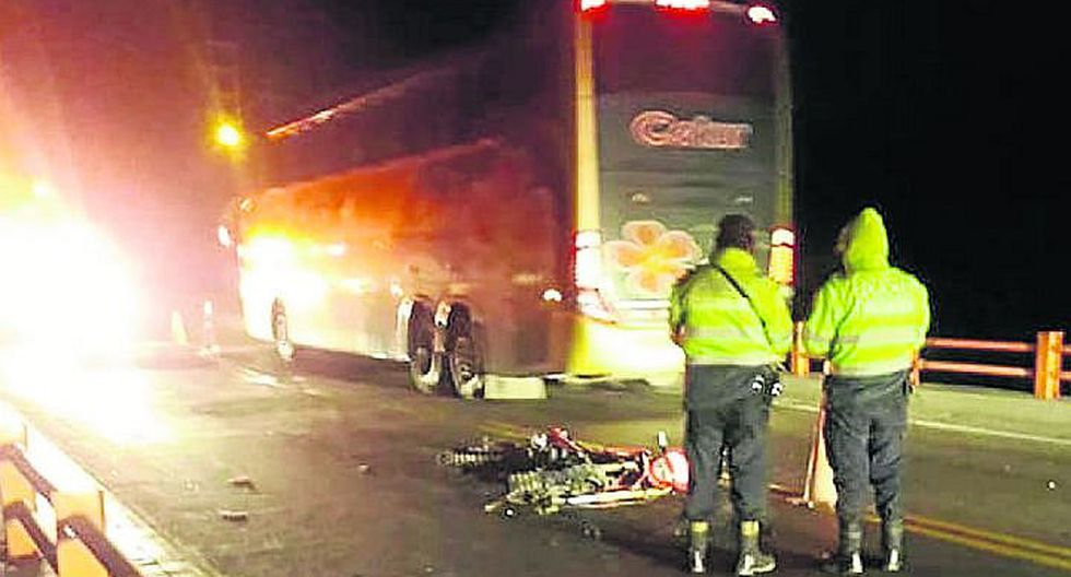 Motociclista muere en aparatoso accidente