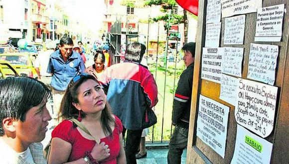 Mujeres ganan el 72.8% del ingreso de los hombres en Lima
