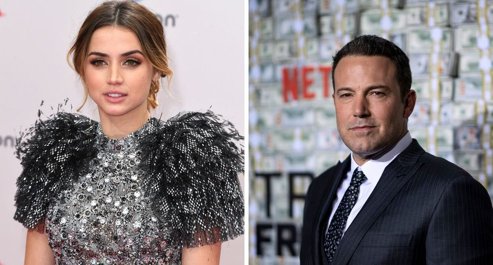 El actor Ben Affleck y Ana de Armas estuvieron en las manifestaciones de Los ángeles. (AFP).