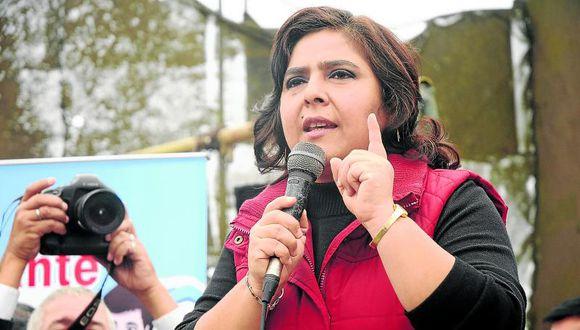 Ana Jara pide dar vuelta a la página tras entredicho con Marisol Espinoza