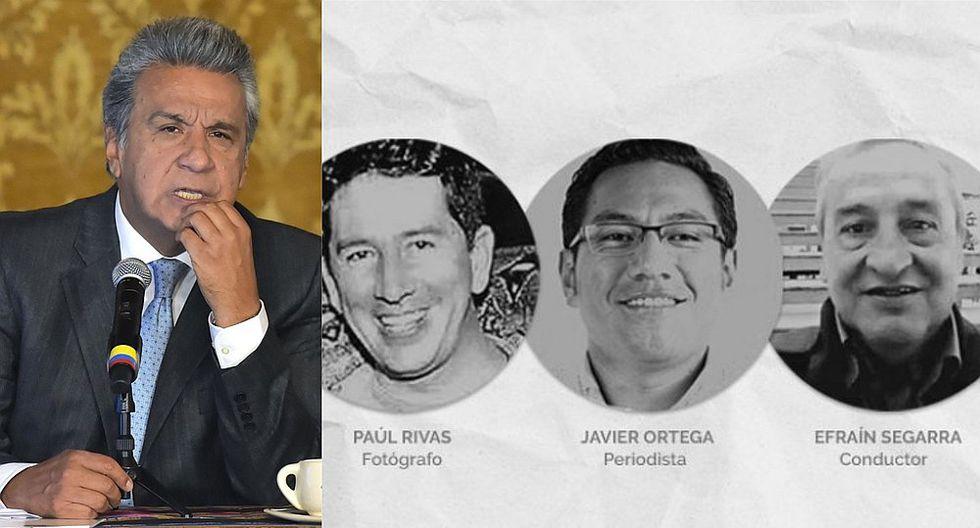 Presidente de Ecuador partió a Quito para atender el tema de los 3 periodistas asesinados por las FARC (VIDEO)