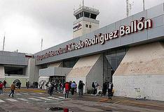 Este jueves Arequipa recibe a pasajeros provenientes de Chile
