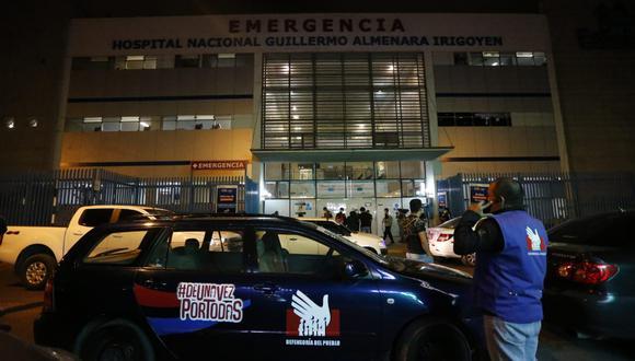 La Defensoría del Pueblo realizó búsquedas en hospitales y comisarías de una persona llamada supuestamente Gabriel Rodríguez Medrano pero no hallaron a nadie con ese nombre. (GEC)