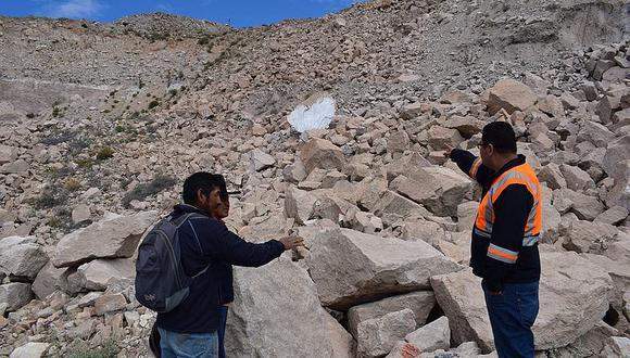 Tierra se hunde siete metros en Tacna por falla geológica