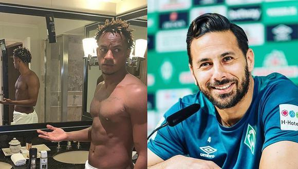 Claudio Pizarro 'troleó' a André Carrillo por jugar en liga de Arabia Saudita