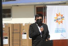 Gobernador de Arequipa pide celeridad al JNE