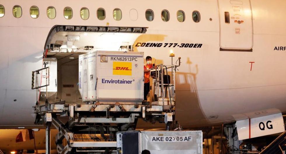 El avión que trae dicho lote de inyectables arribó esta noche a Lima y será trasladado a los almacenes